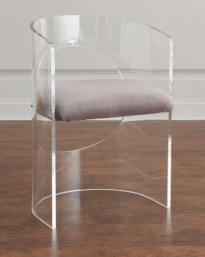 Vanessa Acrylic Circle Chair