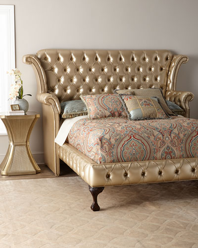 Champagne Carter King Bed