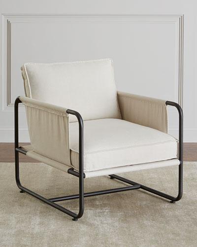 Piper Iron Frame Chair