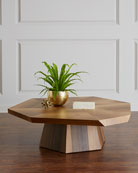 Yukas Wood Coffee Table