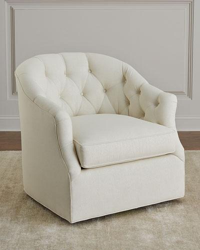 Merci Tufted Swivel Chair