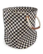 Courtly Check Large Storage Tote