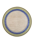 Jeweled Circle Placemat, Thistle