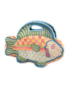 Freckle Fish Lunch Tote
