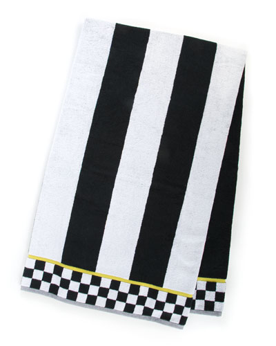 Courtly Stripe Bath Sheet