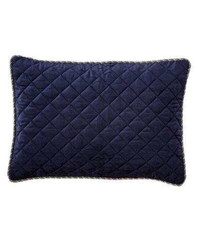 Velvet Quilted Pillow, 14