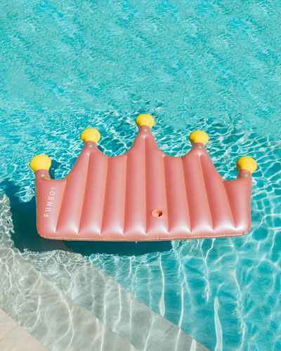 Crown Lounger Pool Float