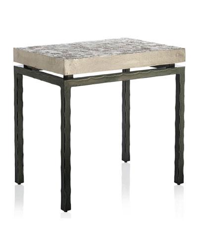 Forest Leaf Side Table