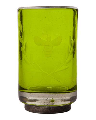 Wee-Bee Vessel Shot Glass, Green