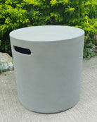 Round Gas Canister Cover