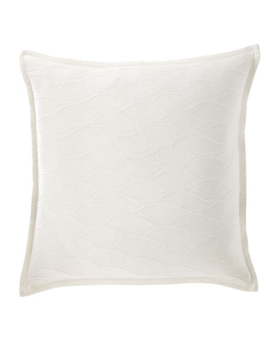 "Isabella Collection Lisette Pillow, 22""Sq."