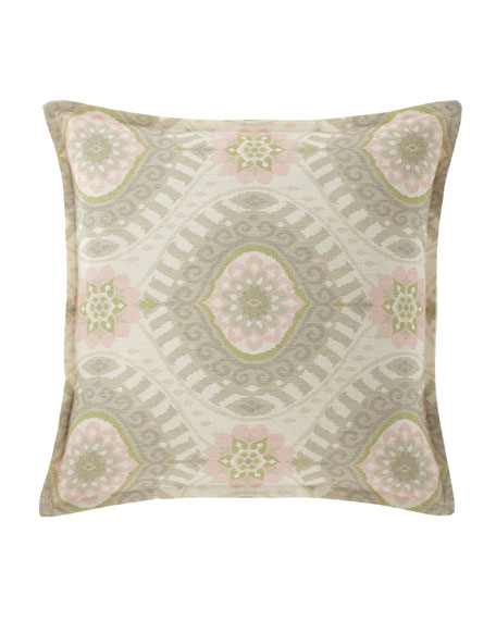 "Isabella Collection by Kathy Fielder Lisette Pillow, 18""Sq."