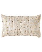 D.V. Kap Home Morse Bolster Pillow and Matching
