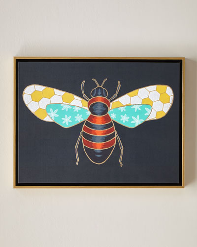 Luxe Bee II Wall Art, 24
