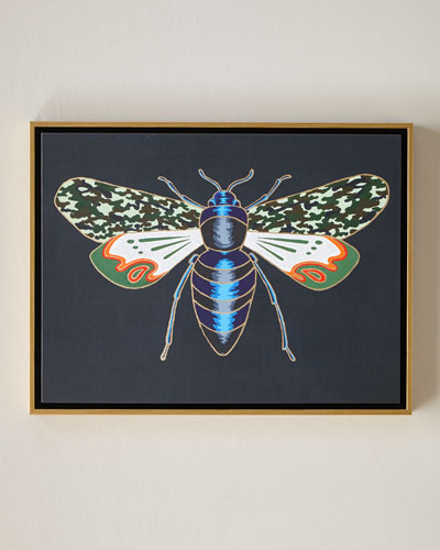 Luxe Bee IV Wall Art, 24