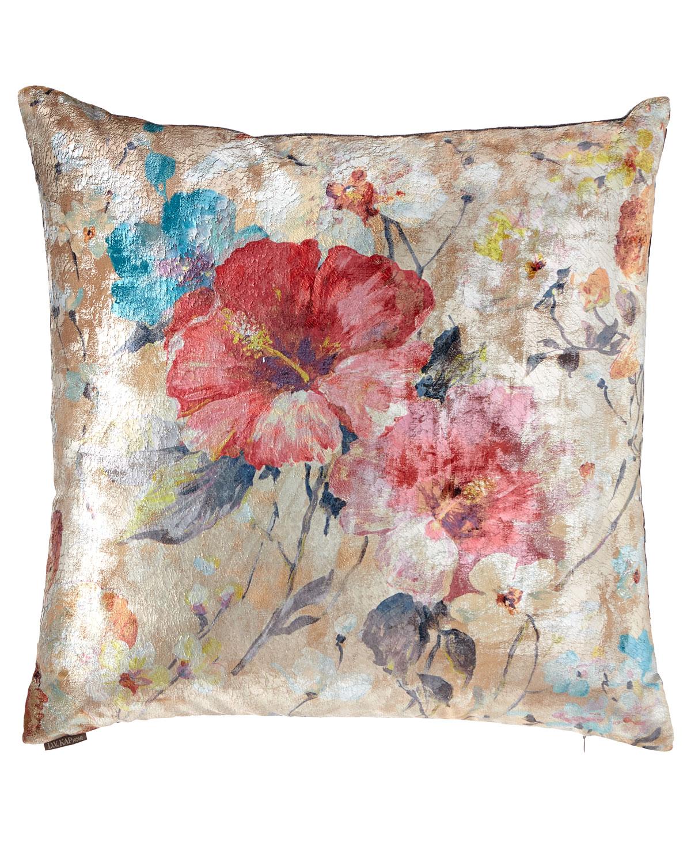 Dazzling Rose Decorative Pillow