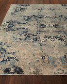 Zaffre Hand-Knotted Rug, 10' x 14'
