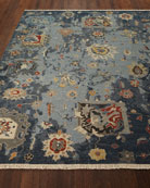 Briley Soumak Weave Hand-Knotted Rug, 6' x 9'