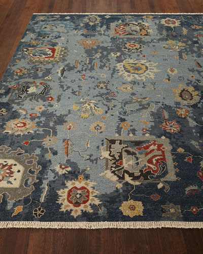 Briley Soumak Weave Hand-Knotted Rug, 4' x 6'
