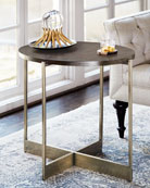 Clarendon Oval End Table