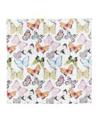 Pastel Butterflies Napkin