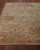 Barron Hand-Knotted Rug, 6' x 9'