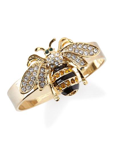 Skinny Bee Napkin Rings, Set of 4