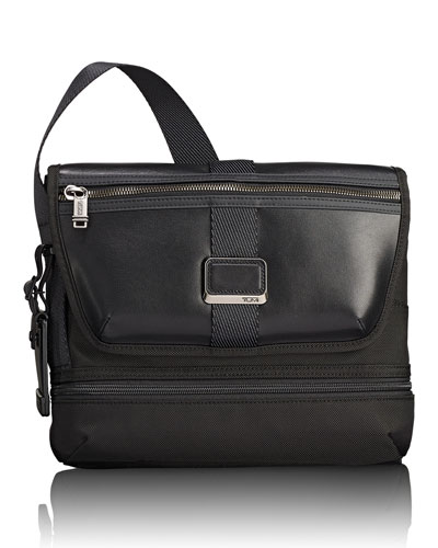 Travis Crossbody Bag, Black
