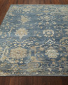 Williamsburg Hand-Knotted Rug, 8' x 10'