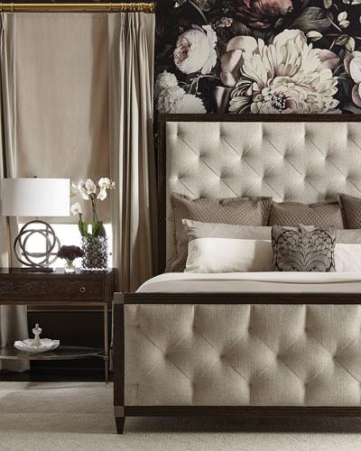 Clarendon Tufted Queen Bed