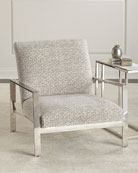 Ambri Chrome-Frame Chair