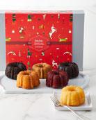 Six-Cake Holiday Sampler