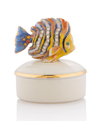 Fish Porcelain Box