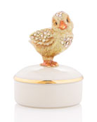 Chick Porcelain Box