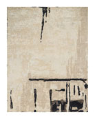 Abstrait Sea Sand Hand-Knotted Rug, 8' x 10'
