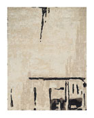 Abstrait Sea Sand Hand-Knotted Rug, 10' x 14'