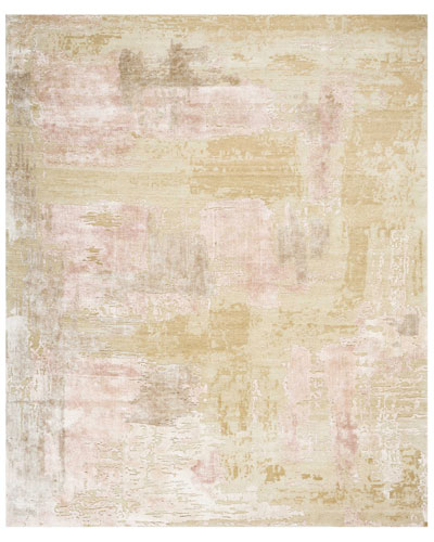 Mirage Shale Hand-Knotted Rug, 10' x 14'
