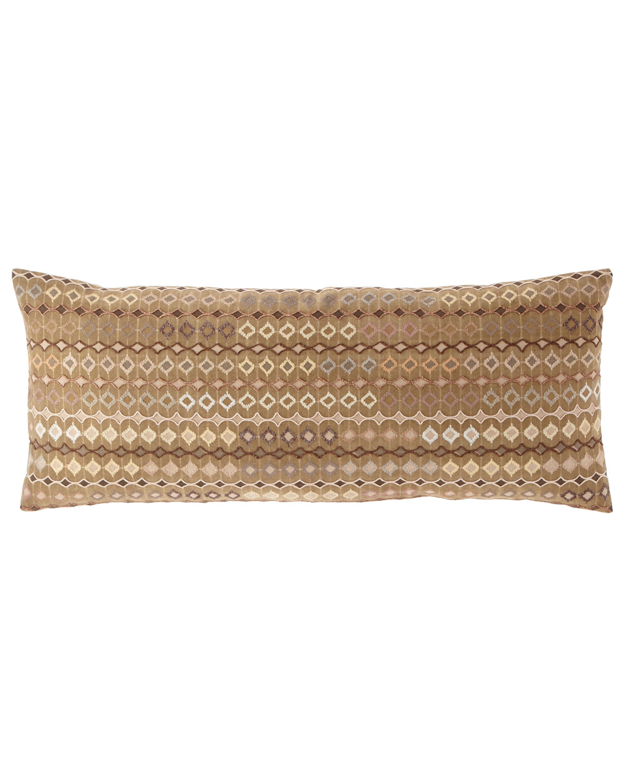 Ballia Embroidered Decorative Pillow