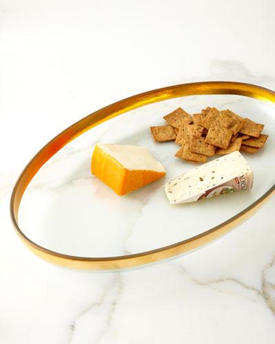 Mod Large Oval Platter