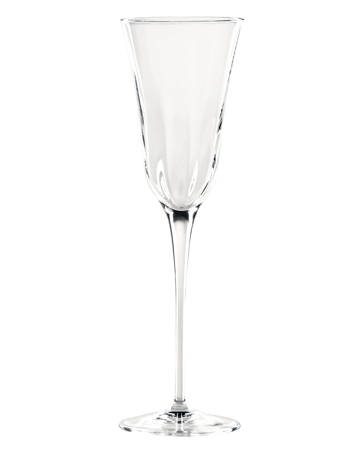 Optical Clear Champagne Flute