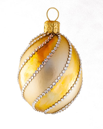 Petit Egg Spirale Ornament
