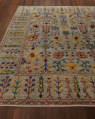 Etta Hand-Knotted Rug, 6' x 9'
