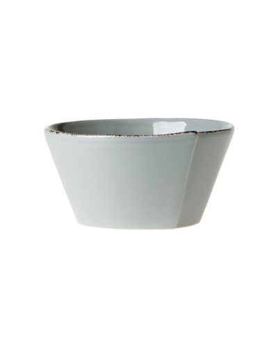 Lastra Stacking Cereal Bowl, Gray