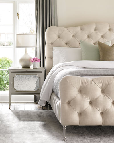 Ashleena Tufted Queen Bed