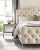 caracole Ashleena Tufted California King Bed