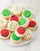 Ladybug Shortbread Cookies
