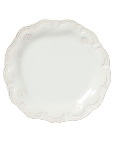 Incanto Stone Lace Dinner Plate, Linen