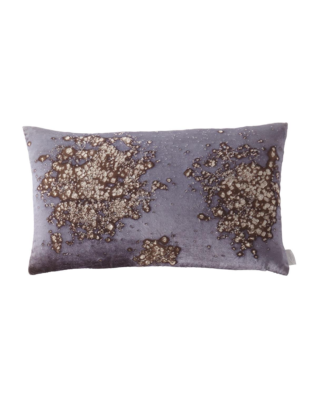 Mineral on Midnight Moon Pillow, 12