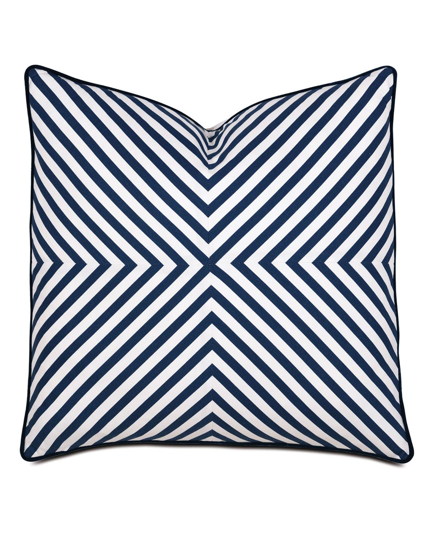 Summerhouse Striped Decorative Pillow