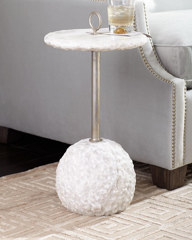 Taya Alabaster Side Table